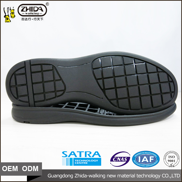 full male size 38-43 qualtiy assurance rubber men business shoe soles