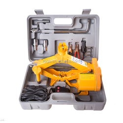 high quality automatic tools 12v electric car jack scissor screw jack