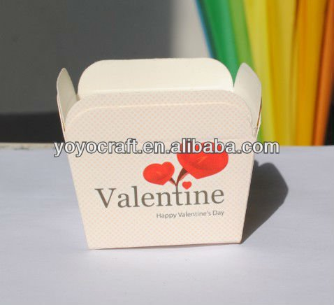 5*5*5cm square paper baking cups with fast shipping in various color square baking cups