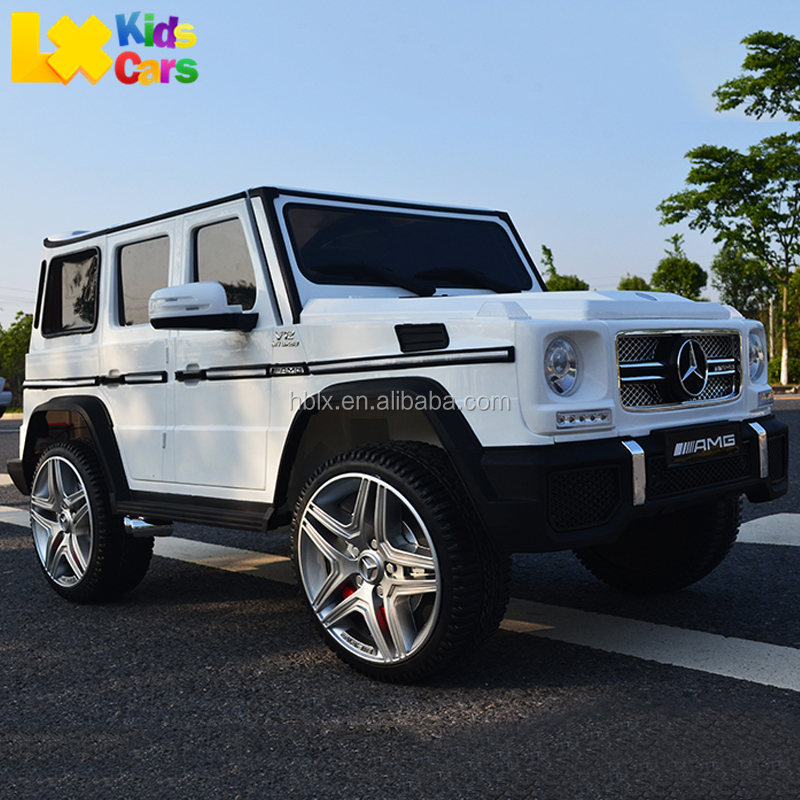 New Licensed Kids Mercedes Car G65 AMG Electric Ride On Toy Rc Remote