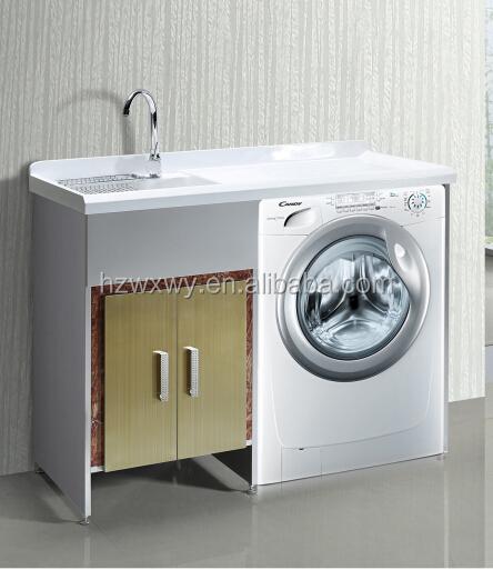 wu00e4sche spu00fclenschrank mit Waschmaschine wu00e4sche ...