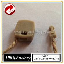 2015 GZ-Time Factory supply brand trouser wax twine cord string tags,supply brand plastic trouser cord string hang tags soft