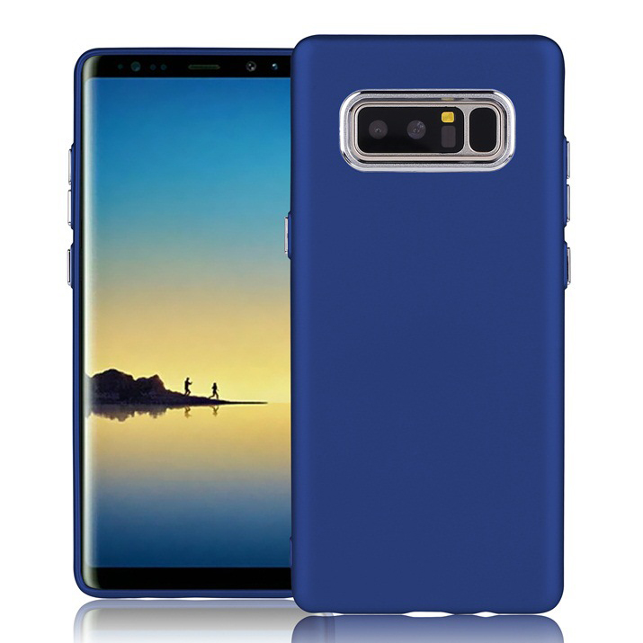 Anti-Scratch ShockProof Flexible TPU Gel Case For Note 8 , Anti-Finger Print Phone Case For Samsung Note 8
