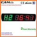 [Ganxin] Six Digital LED Interval Wall Clock Gym Crossfit Timer