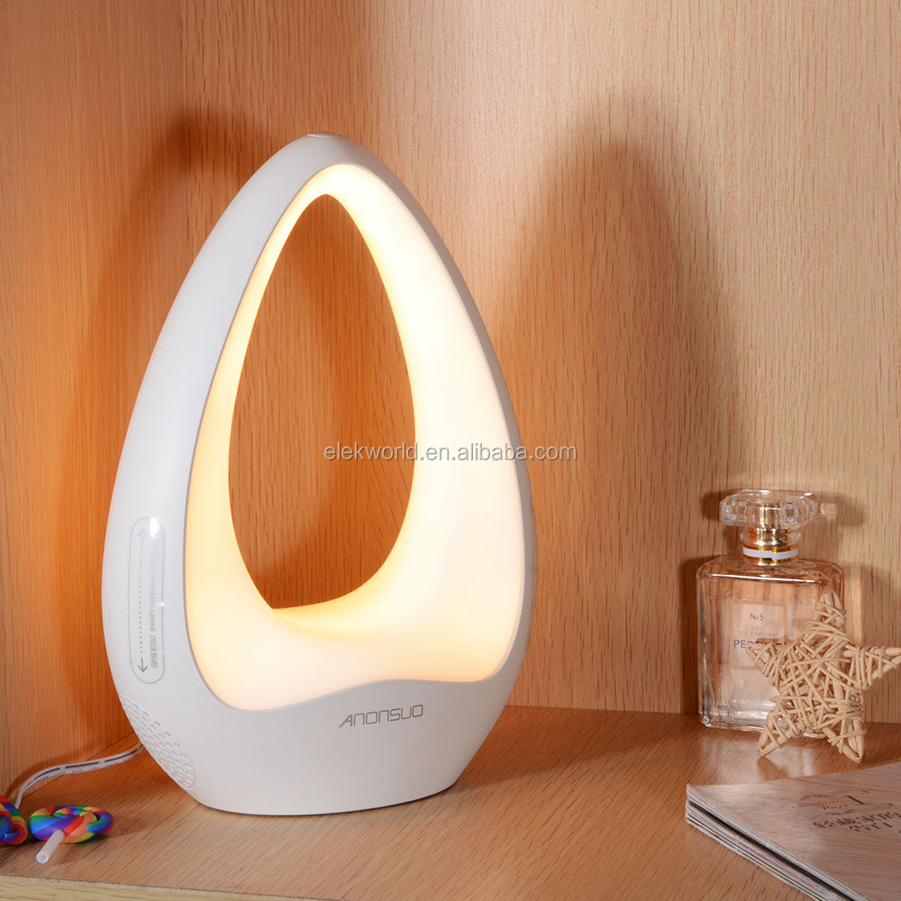 """Anonsuo"" A-Touch Touch Control LED Light Wireless BT Speaker for home decoration supporting Remote Shutter, w/retail package"