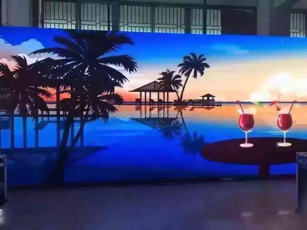 Low consumption P7.62 indoor full color led display video panel