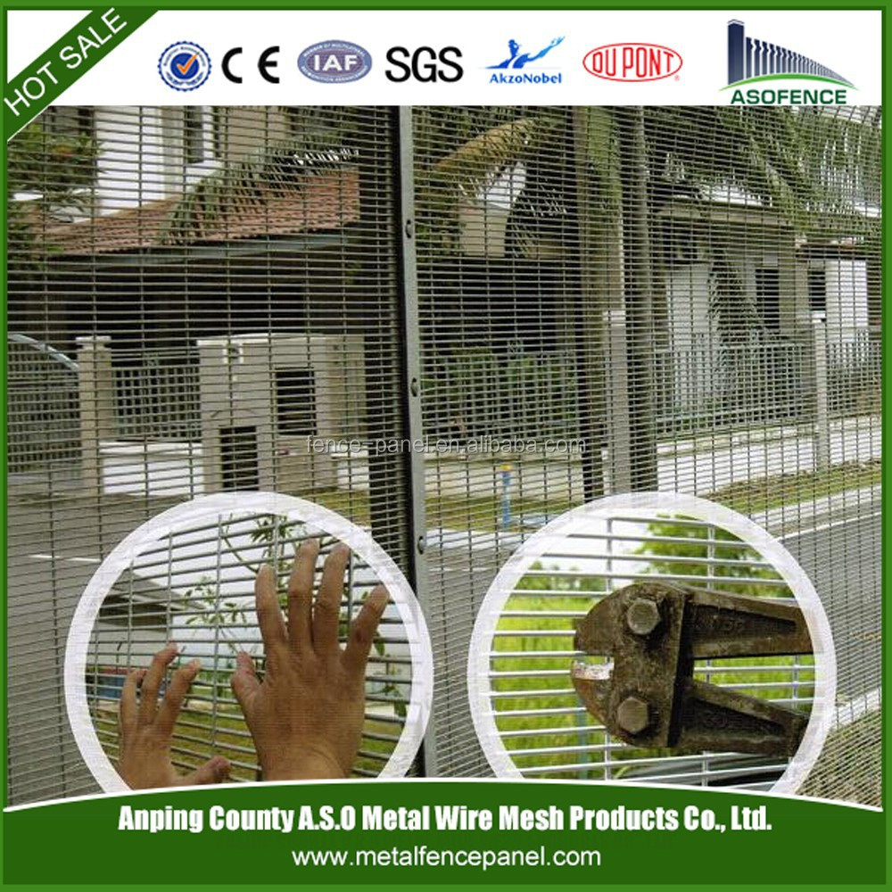 Hot sale fence ISO 9001 factory wholesale price cut proof fencing