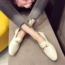 Fashion <strong>Flat</strong> Buckle Lady Shoes