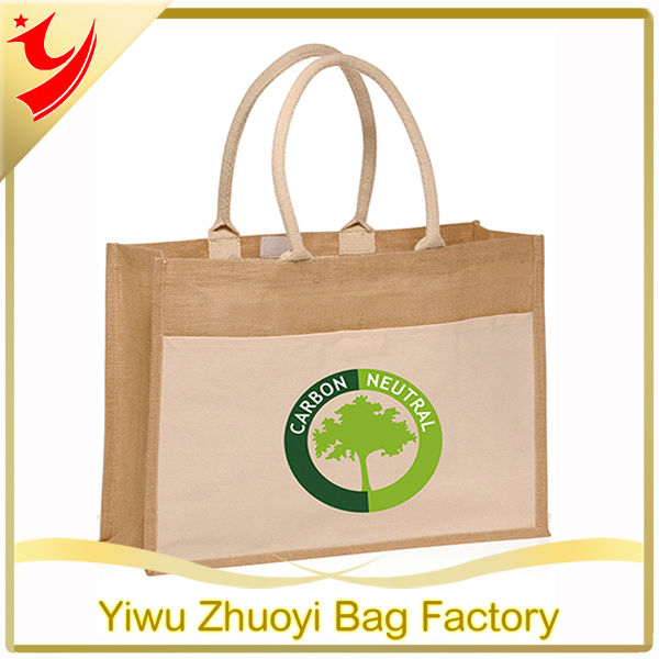 Promotional Cheap Jute Tote Bags Personalized with Logo Wholesale