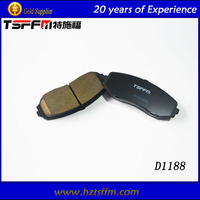 ISO certificate car spare part brake pad made in China