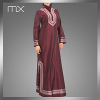 Hijab Fashion Modern Embroidery Kaftan Made in Turkey Clothing Abaya 2015