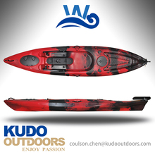 2017 single sit on top fishing kayak with custom color for kayak fishing
