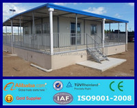 prefabricated expandable container houses shelter usa for sale