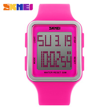 Fashion Casual Digital Women Students Wristwatches Outdoor Girls Waterproof Sports Watches