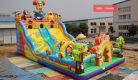 PVC inflatable game , party jumping castle, TJ-002