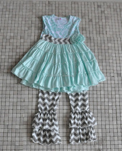 CONICE NINI best price swing dress chevron pant summer children suit
