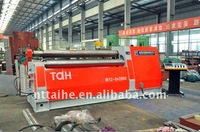 Hydraulic roll bending machine