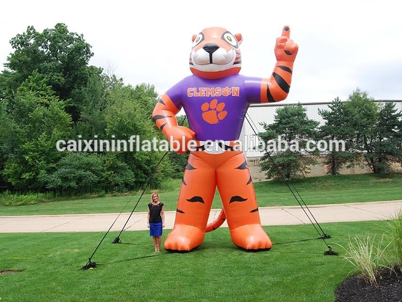 inflatable tiger cartoon/animal/mascot/model/character/replica/ for