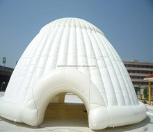 Trade and Market inflatale clear tent, inflatable shell tent for sale, beautiful inflatable tent for sale
