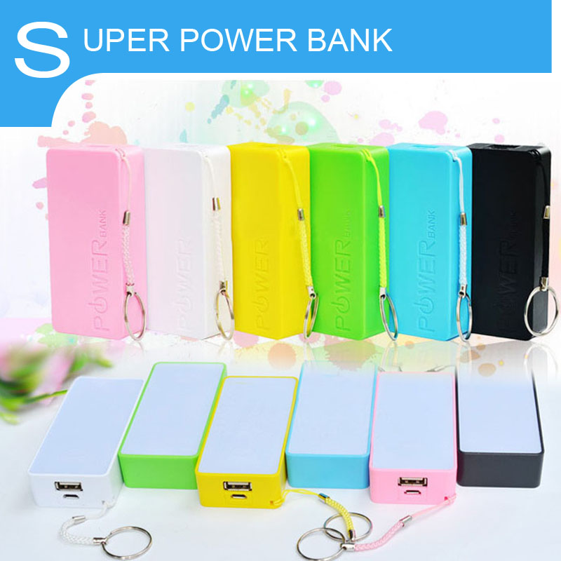 Gift power bank colorful perfume mobile power bank 5200mah