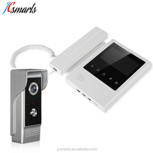 "Apartments room to room intercom system wired video entry front door camera 4.3"" screen"