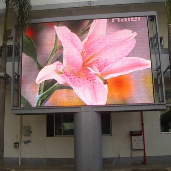 <strong>P10</strong> Smd Outdoor Led Banner Large Screen Display,Outdoor Led Clock Time Date Temperature Sign