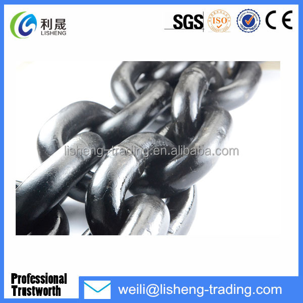 High Tension ASTM80 Hoist Chain G30 Lifting Chain .