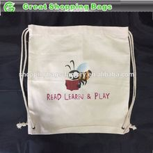 Educational cloth drawstring bags