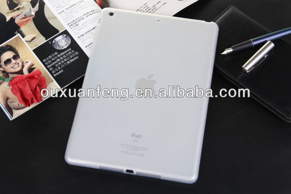 Frosted Matte TPU Cover Clear Transparent Case For iPad mini