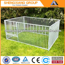Galvanized Dog Pen