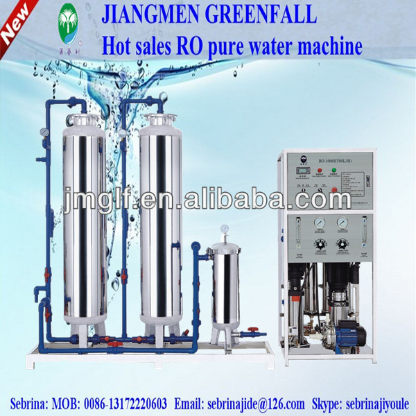 small capacity industrial RO Water treatment equipment for cosmetic,pharmaceutical,chemical industries,food,drinking water
