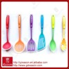 6 pcs Colorful silicone kitchen utensil set /set of silicone kitchen utensils