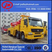 HOWO 8X4 SINO TRUCK heavy tow truck with 360 rotating boom Steyr EURO3 EURO4