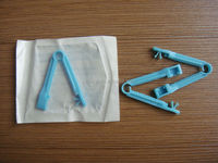 Umbilical cord clamps /Sterile /CE and ISO standard /5.5cm