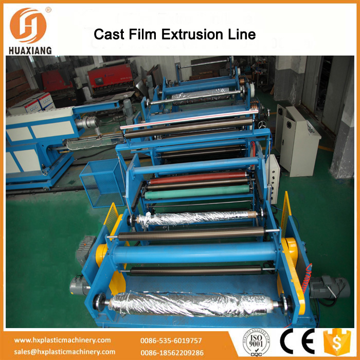 Automatic plastic film ropes extruder equipment machine for PSP board