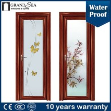 China professional factory multi track glazed venting entry doors low price
