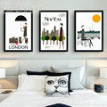 Landscape Canvas Art Printed Painting Poster Nordic Style Wall Pictures