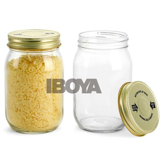 500Ml 16Oz Wide Mouth Canned Food Jars