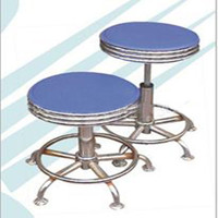 heavy duty stainless steel hospital foot stool can adjustable