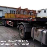 40 Ft Flat Bed Container Semi
