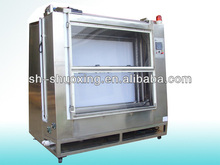 Automatic screen printing wash booth