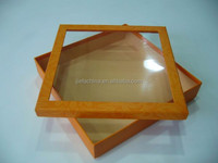 2015 Hot-selling Paper Gift Box With Clear Pvc Window