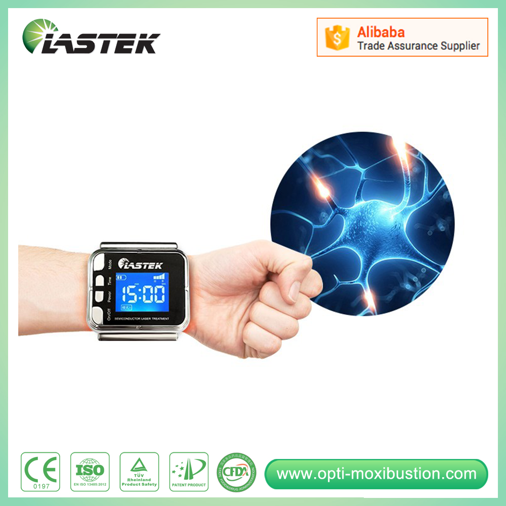 Christmas gift Portable Device Cold Laser Therapy Machine Sales Low Level Laser Therapy Watch