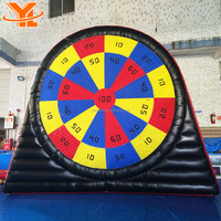 Guangzhou Factory Price Soccer Game Inflatable Soccer Dart Board