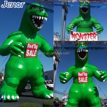 Giant inflatable dinosaur cartoon inflatable godzilla monster character
