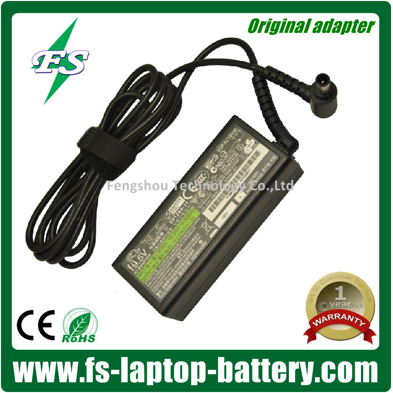 Original Laptop AC Adapter For SONY 19.5V 2A 6.0*4.4MM CHARGER AC ADAPTER VGP-AC19V39 N50 Laptop Power Supply