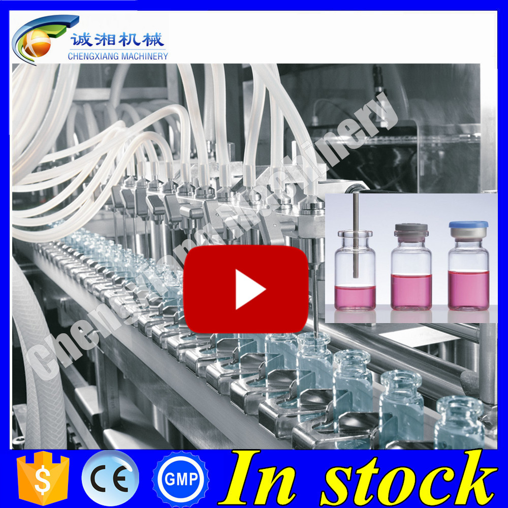 Rational construction vial filling line,vial filling plugging and capping machine