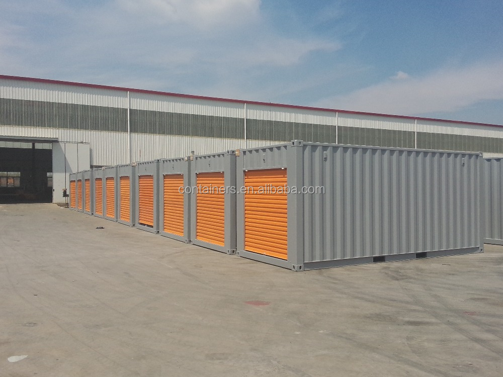 20ft roller shutter door shipping container for storage