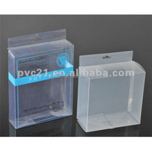 2017 new products pvc Clear plastic gift box,candy box