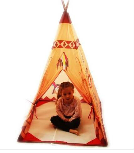 Ningbo J&D Kids Indian Style Tent Indoor Tipi Tent For Kids Folding Play House